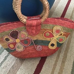 Mexican colorful purse. Medium size.   Hand made